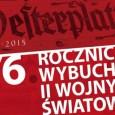 1września 1939 roku to data bardzo ważna dla każdego Polaka. 76 lat temu, 1 września rano wojska niemieckie, bez wypowiedzenia wojny, przekroczyły granice Polski. Pierwsze strzały w kierunku naszego granicznych […]