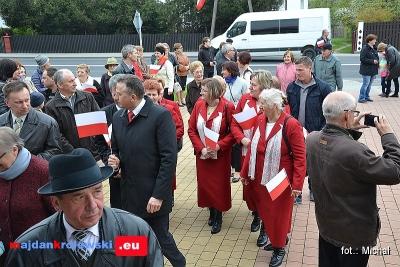 Zobacz zdjęcia z z obchodów 226-rocznicy uchwalenia Konstytucji 3 Maja w Majdanie Królewskim