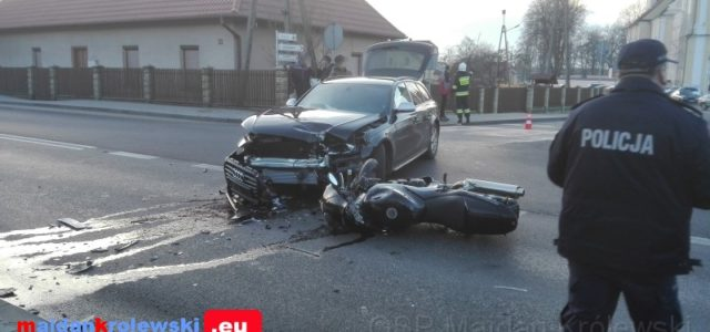 2018.01.03 Zdarzenie drogowe na trasie nr 9. Motocykl zderzyła się z audi. Info: podkapacka.policja.gov.pl Niemal dwa promile alkoholu w organizmie miał 35-letni motocyklista, który trafił do szpitala po zderzeniu z […]