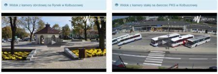 Kamery na rynek i dworzec PKS/PKP w Kolbuszowej