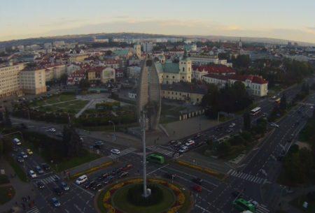 Kamery online z widokiem na Rzeszów ( 16 kamer m.in lotnisko, rynek...)